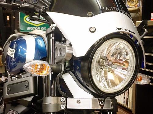 AMAHA(ヤマハ)XSR900リファインカスタム ヘッドライトアンダーサイド