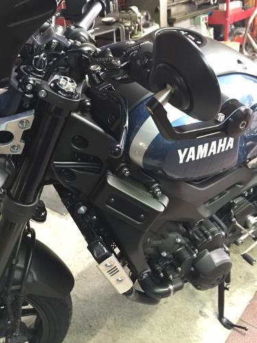 AMAHA(ヤマハ)XSR900リファインカスタム ミラーのカスタム