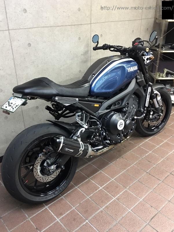 YAMAHA(ヤマハ)XSR900 ハイクオリティカスタムシートカスタム 後方
