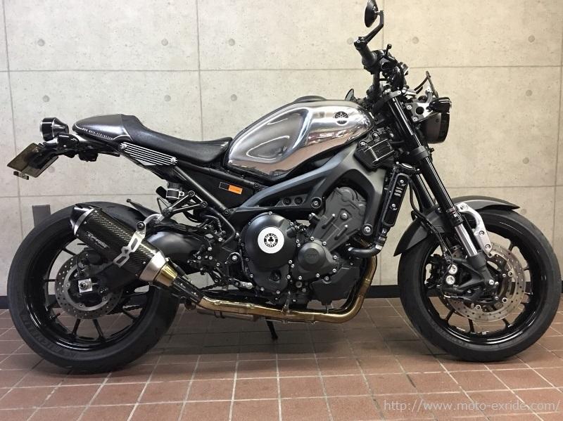 YAMAHA(ヤマハ)XSR900 外装カスタム 横