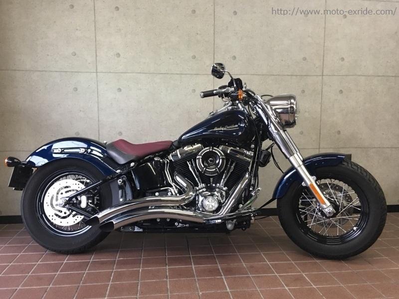 Harley-Davidson(ハーレーダビットソン) FLS カスタム 横/MOTO-EXRIDE(モトエクスライド)