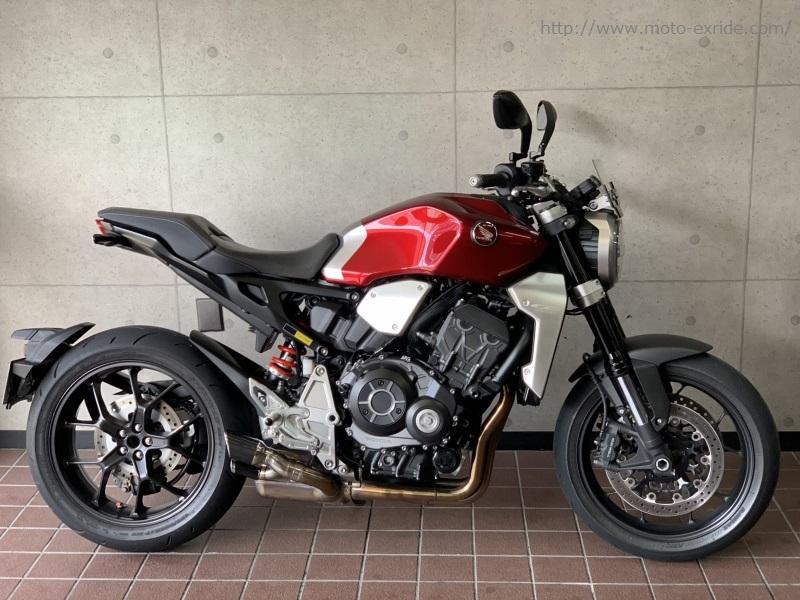 HONDA(ホンダ)CB1000R 2018モデル ワンオフサイレンサー カスタム 横/MOTO-EXRIDE(モトエクスライド)