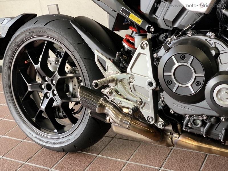 HONDA(ホンダ)CB1000R 2018モデル ワンオフサイレンサー カスタム/MOTO-EXRIDE(モトエクスライド)