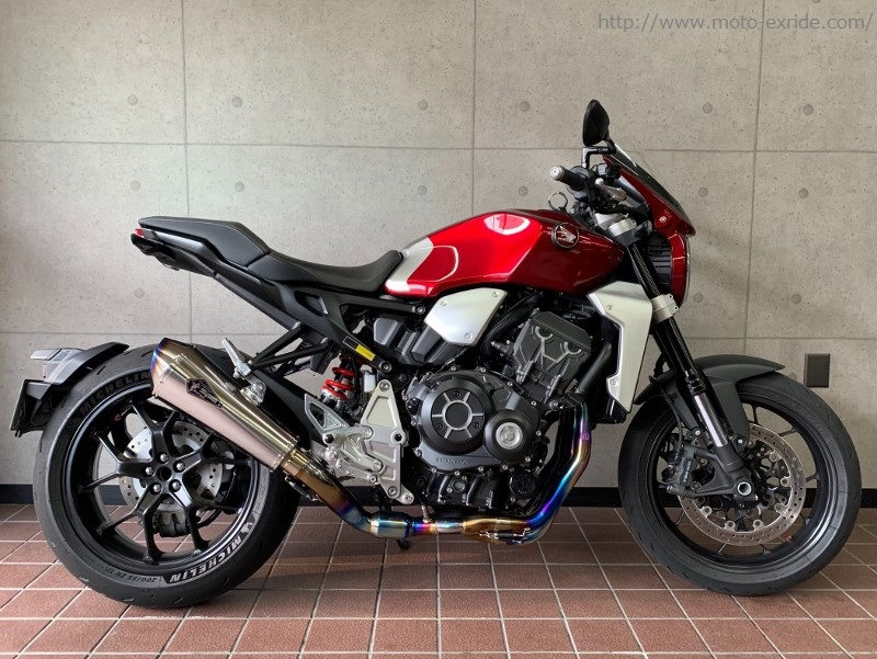 HONDA(ホンダ)CB1000R 2018モデル メーターバイザー カスタム 横/MOTO-EXRIDE(モトエクスライド)