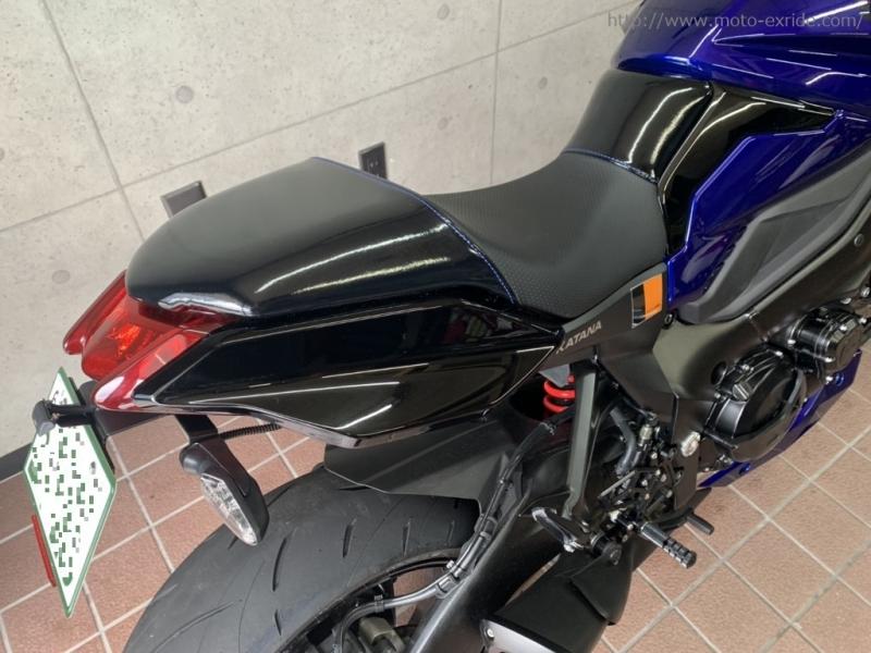 SUZUKI(スズキ) KATANA(カタナ) カスタム フェンダーレス アップ/MOTO-EXRIDE(モトエクスライド)