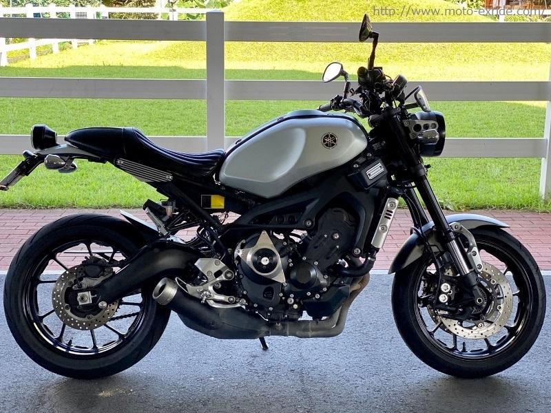 YAMAHA(ヤマハ)XSR900 シートカスタム 車輛/MOTO-EXRIDE(モトエクスライド)