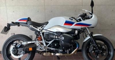 BMW RnineT Racer エキセントリック調整付きトルクロッド製作カスタム