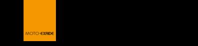 カスタムバイクショップ MOTO-EXRIDE(モトエクスライド) オンラインショップ ロゴ