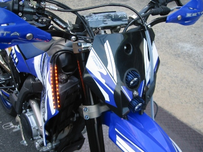 YAMAHA WR250X フルカスタム モトエクスライドオリジナルハイパワーLEDライト