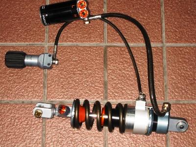KAWASAKI ZZR1400 WP(ホワイトパワー)サスペンション フルオーダーカスタム 全体