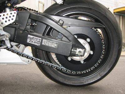 HONDA CBR929RR エクストリームバイクカスタム ローギヤード